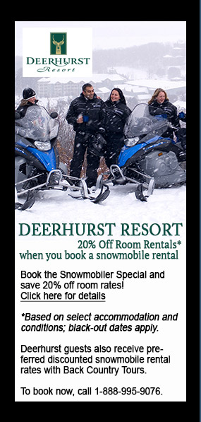 discount at Deerhurst Resort, 20% off room rate