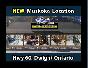 Dwight Hwy 60 Store Back Country Tours ATV Snowmobile specialists in Ontario