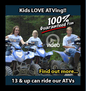 Kids Love ATVing Back Country Tours ATV Snowmobile specialists in Ontario