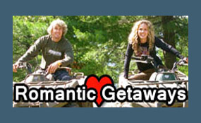 Romantic Getaways Back Country Tours ATV Snowmobile specialists in Ontario