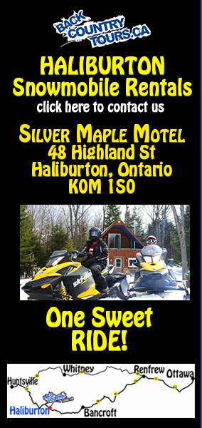 haliburton atv and snowmobile rentals and tours