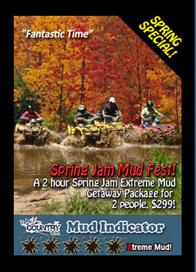 Back Country Tours ATV TOURS MUD FUN Muskoka