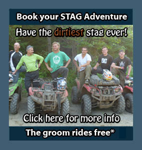 Stag Events Back Country Tours ATV Snowmobile specialists in Ontario