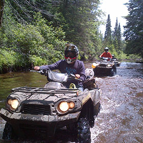 Jack & Jill Parties - atv tours for large group Jack & Jill Parties