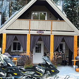 snowmobile tours in muskoka and haliburton ontario