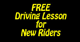 free snowmobile driving lesson