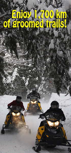 snowmobile ski-doo rental at deerhurst by back country tours