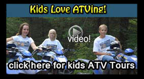 kids love ATV, great familiy tours and rentals